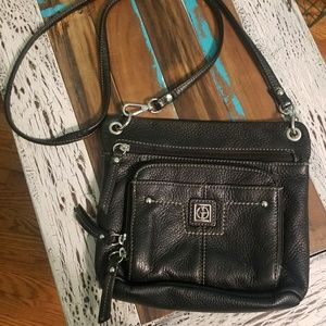 🌼Giani Bernini Black Leather Crossbody Purse🌼